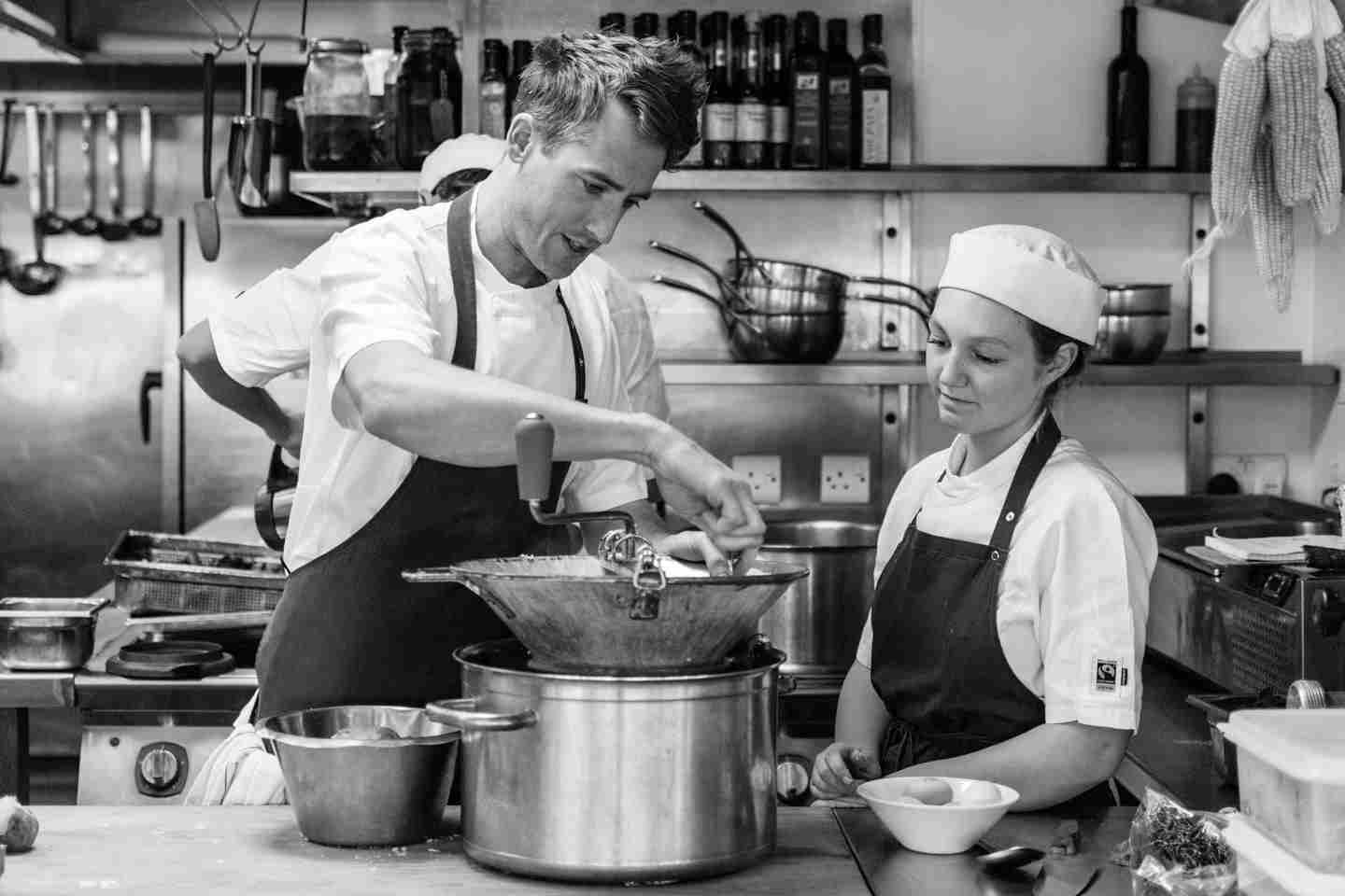 Fifteen Cornwall Apprentice Chef