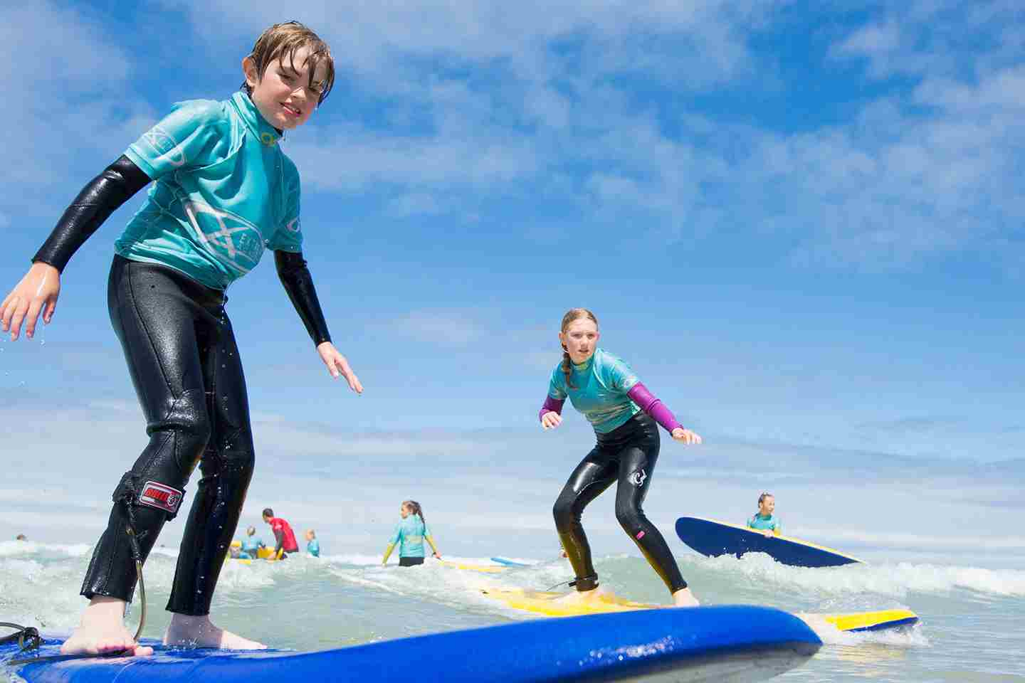 Surf Lesson With The Extreme Academy