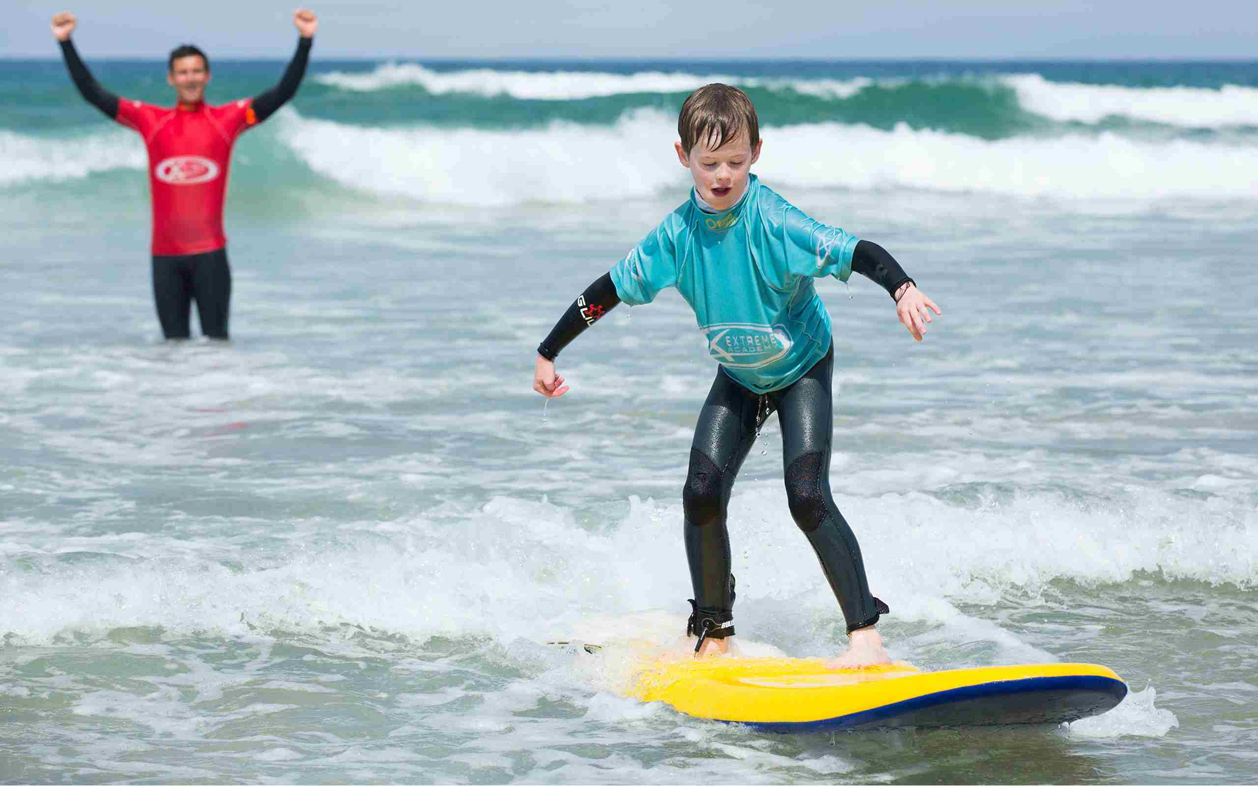 Surf Lesson With The Extreme Academy (2)