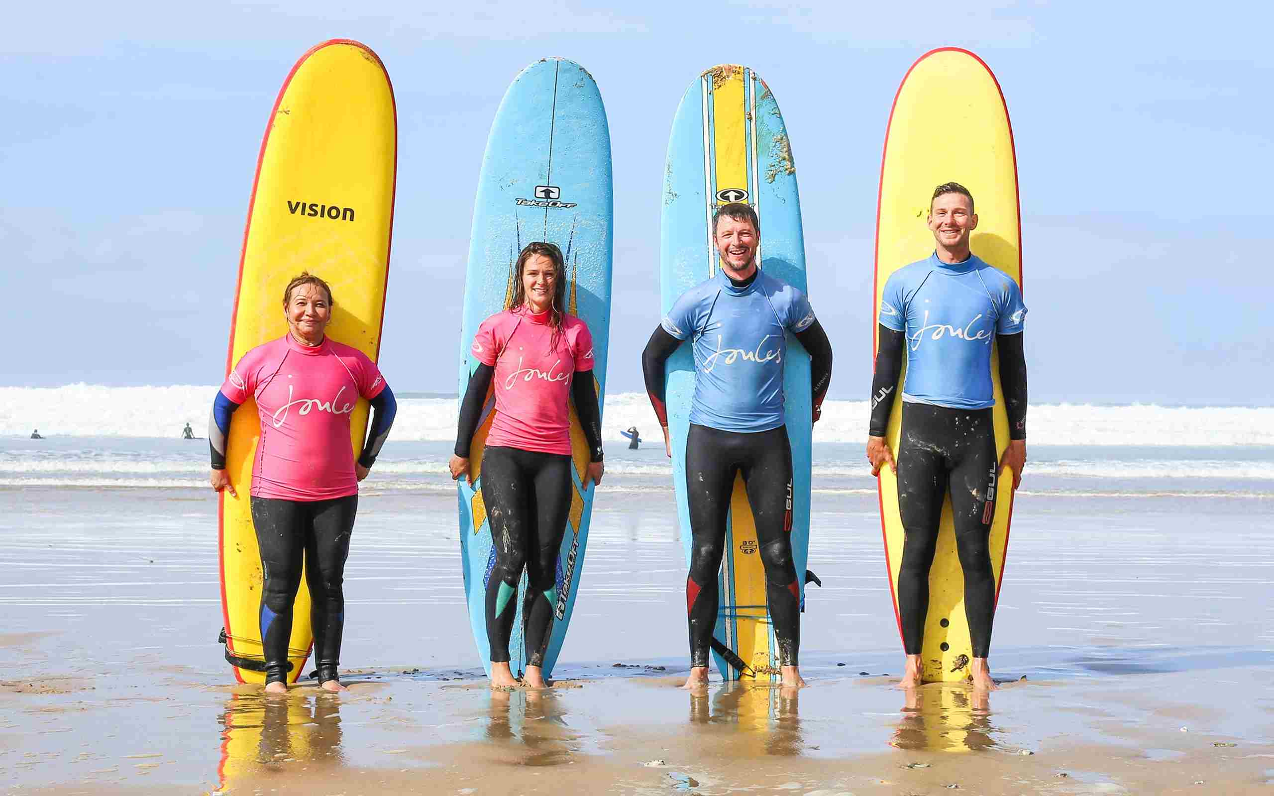 Group Surfing With The Extreme Academy