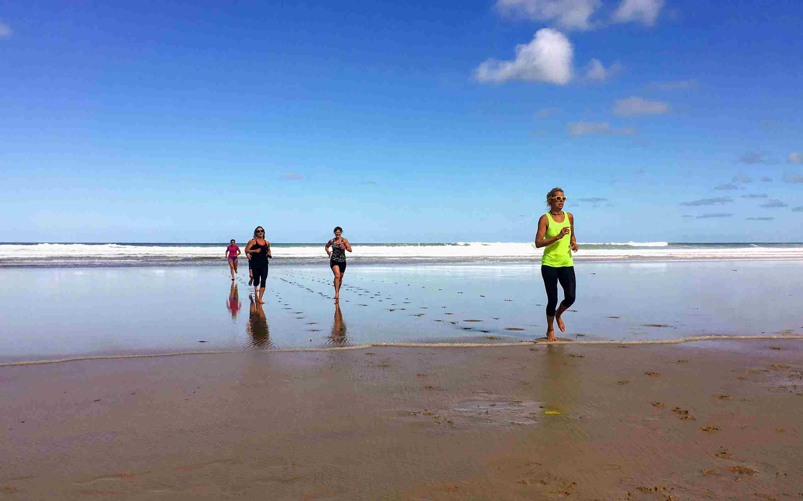Coastal Fitness At Watergate Bay