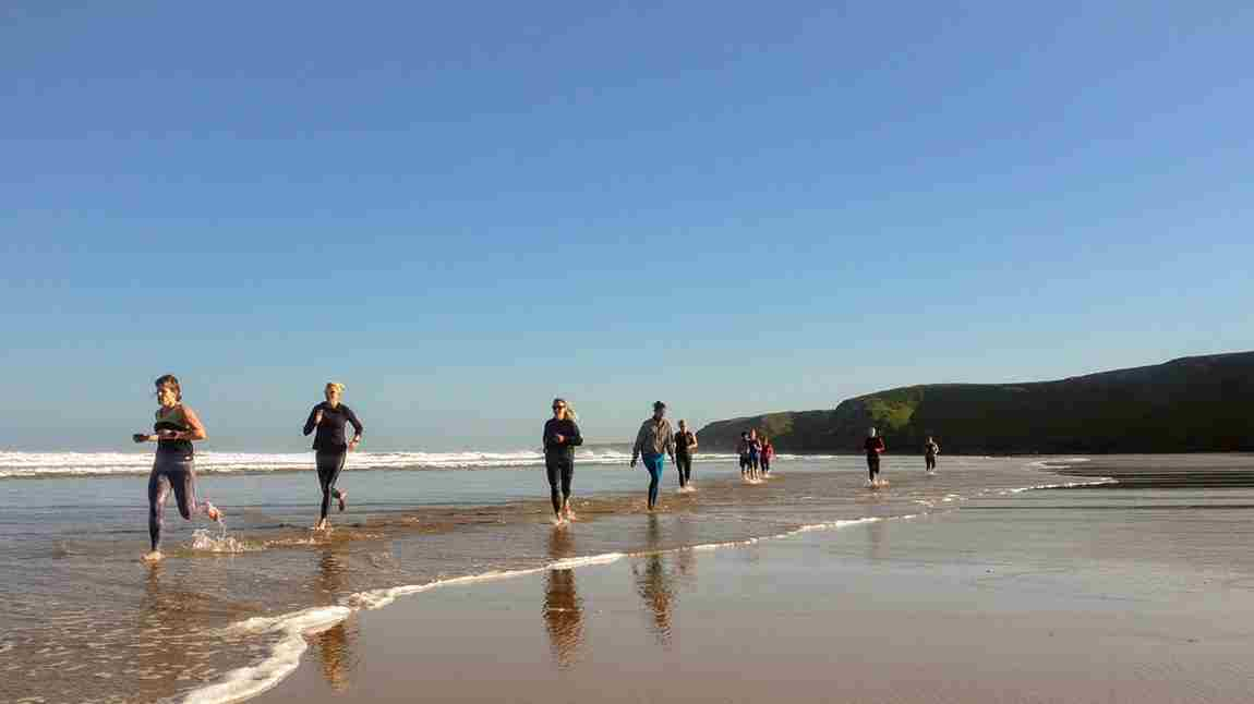 Beach Fitness Cornwall Breaks