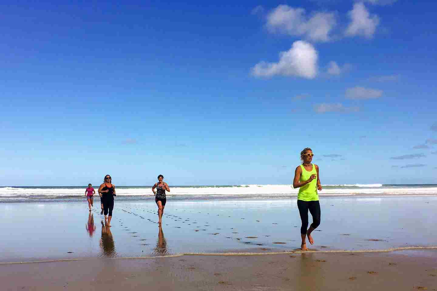 Beach Fitness Cornwall Watergate Bay