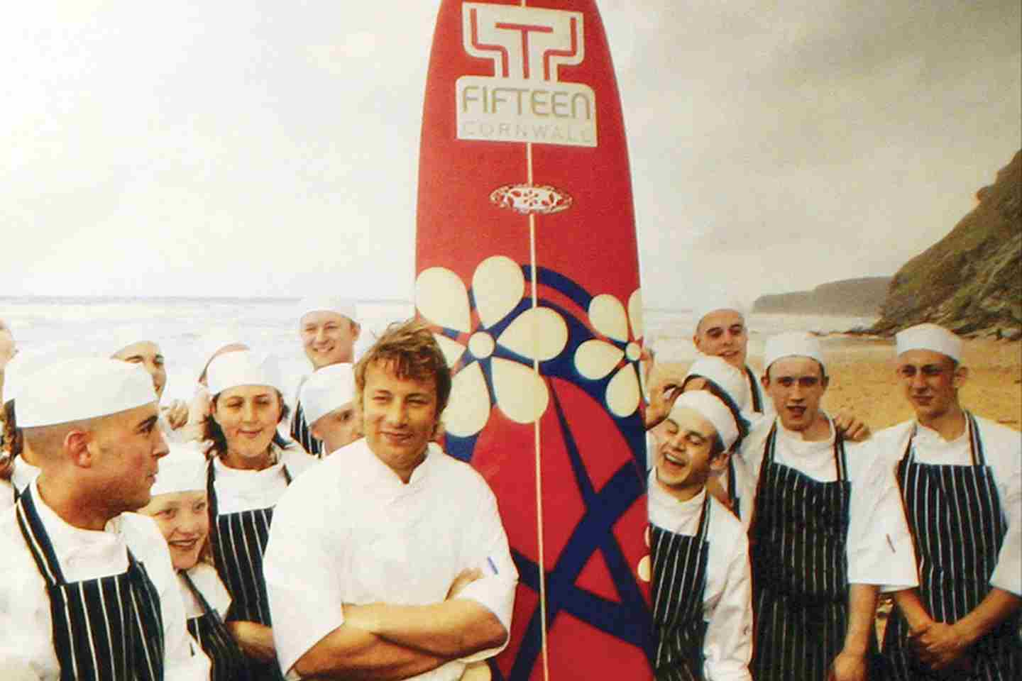 Jamie Oliver On The Beach
