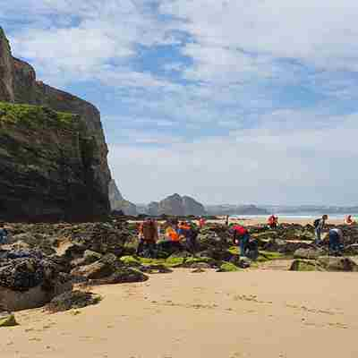 Mcs Beach Clean Watergate Bay (1)