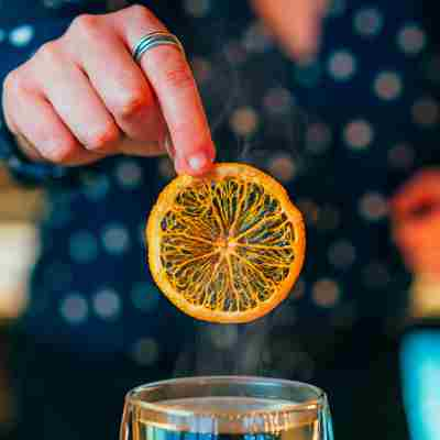 Hot Gin And Tonic Orange